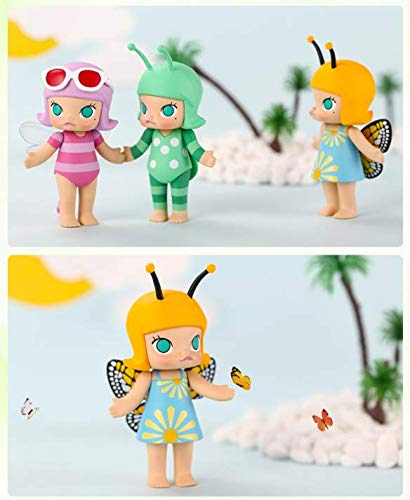 New Fashion Vogue Statue Dolls Mart Hello Molly Cute Girl Figure Figurine Toys Buy One Get One Free Action & Toy Figures