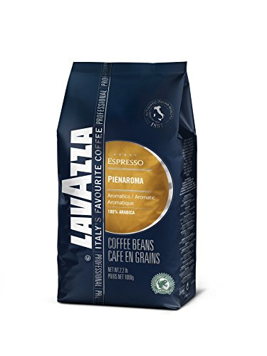 Lavazza Pienaroma Whole Bean Coffee Blend, Medium Espresso Roast, 2.2-Pound Bag