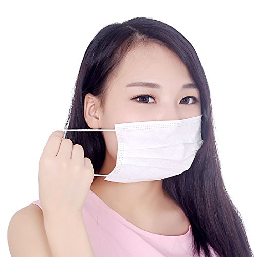 3-ply Mask Disposable Marygel 80 Pcs Non-woven White Surgical