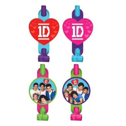 One Direction Blowouts / Favors (8ct) ()