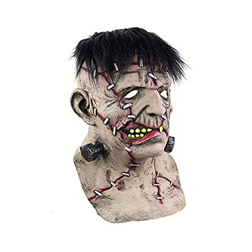 MoGist Halloween Frankenstein Mask Horror Scary Props -
