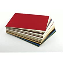 18x24 Mat Board Uncut Variety Pack 10 Assorted Colors