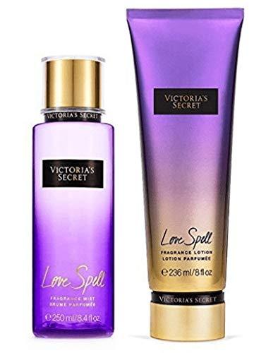 Victorias Secret Love Spell Lotion and Mist Set by Victoria's Secret