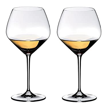 Riedel Heart to Heart Chardonnay Glasses, Set of 2