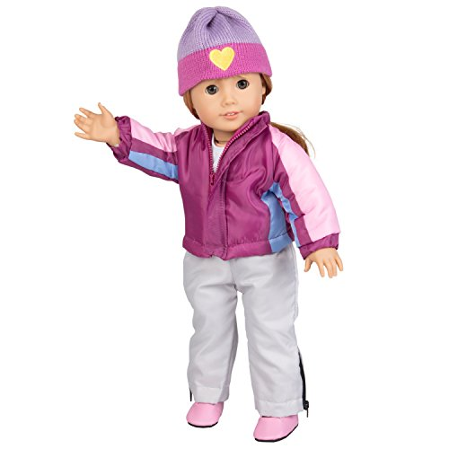 Skiing Doll Clothes for American Girl Dolls