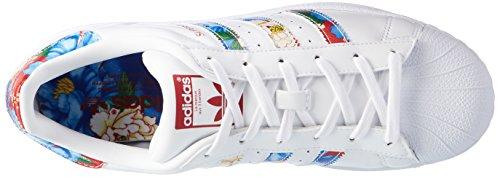 Superstar Silber Ftwwht adidas Powred Sneaker Ftwwht Damen W Weiß wCa7qT
