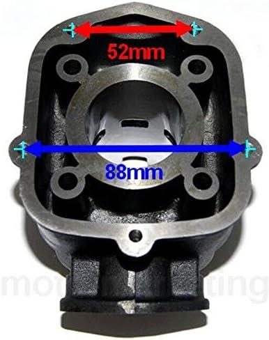 50 Cylindre Piston Cage /À Aiguille Set KIT pour Aprilia RX 50 de06 2T Noir Unbranded