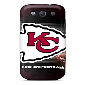 Samsung Galaxy S3 SGZ2014hNsm Allow Personal Design Fashion Kansas City Chiefs Image Bumper Hard Cell-phone Cases -KimberleyBoyes