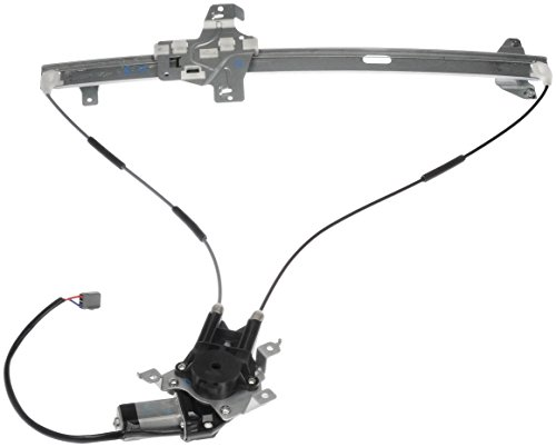 (Dorman 741-586 Front Driver Side Power Window Regulator and Motor Assembly for Select ford Models)