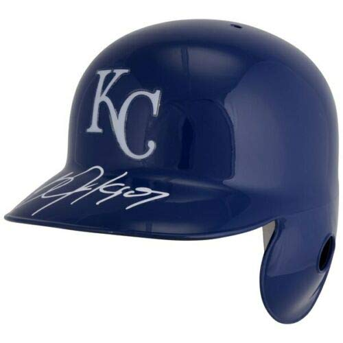 BO JACKSON Autographed Kansas City Royals Replica Batting Helmet FANATICS