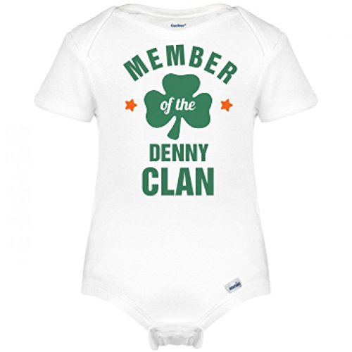 st-patricks-member-of-the-denny-clan-infant-gerber-onesies