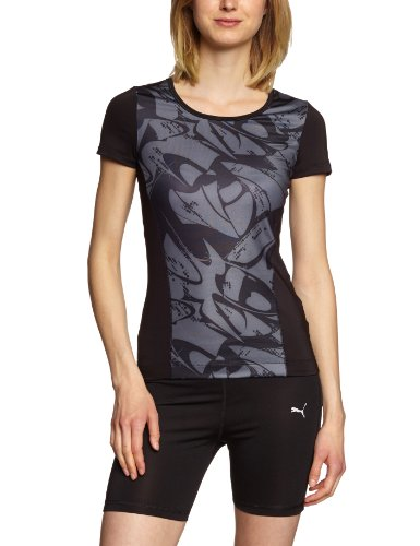 PUMA Ess gym graphic - Camiseta para mujer Negro (Black)
