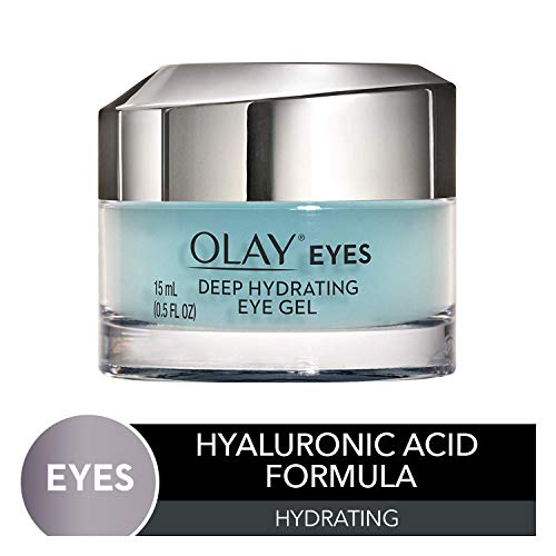 Olay Deep Hydrating Eye Gel with Hyaluronic Acid for Tired Eyes, 0.5 fl oz (Best Inexpensive Under Eye Cream)