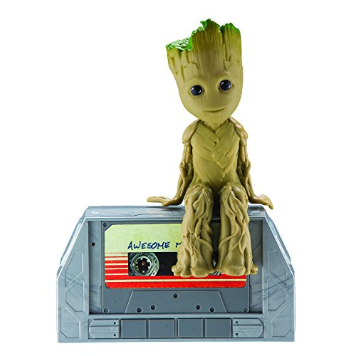 Marvel Guardians Of The Galaxy Vol 2 Movie Dancing Groot Speaker Boombox Moves And Grooves To The Music