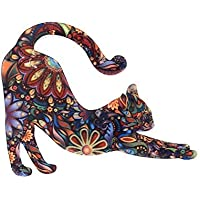 pu Ran Unisex Fashion Cute Animal Cat Elephant Pattern Brooch Pin Badge Jewelry