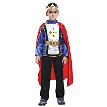 La Vogue Boys Prince Costume King Child Costume Dress Up Role Play