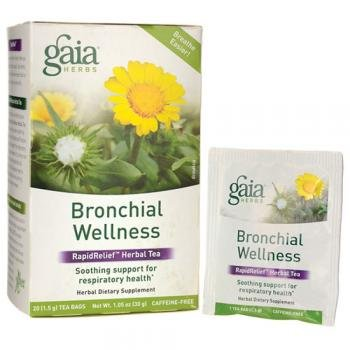 Gaia Herbs, Tea Bronchial Wellness, 16 Count