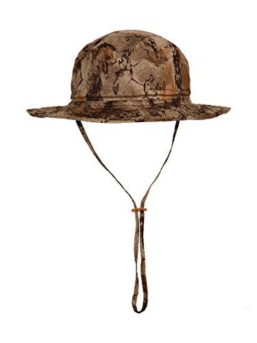 Natural Gear Water Resistant Boonie Hat, Adjustable Camo Hat for Fishing, Hunting, and Other Sports, Knit Hat for Men
