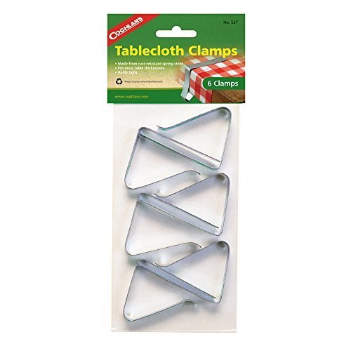 Coghlan's 527 Table Cloth Clamp (Pack of 2) by Coghlan's