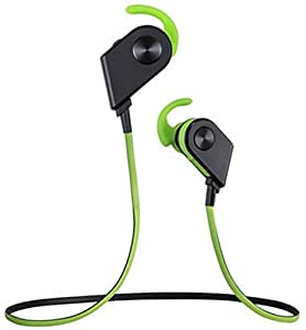 stereo wireless bluetooth headset in ear headphones loud bass magnetic power noise. Black Bedroom Furniture Sets. Home Design Ideas