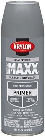 Gray by Krylon Krylon K09183000 COVERMAXX Primer