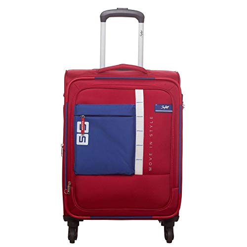 Skybags Polyester Cabin Luggage  SKYBAGS_STDUBH58RVR_Red