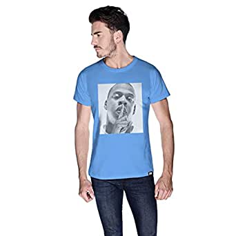 Creo Jay Z T-Shirt For Men - L, Blue