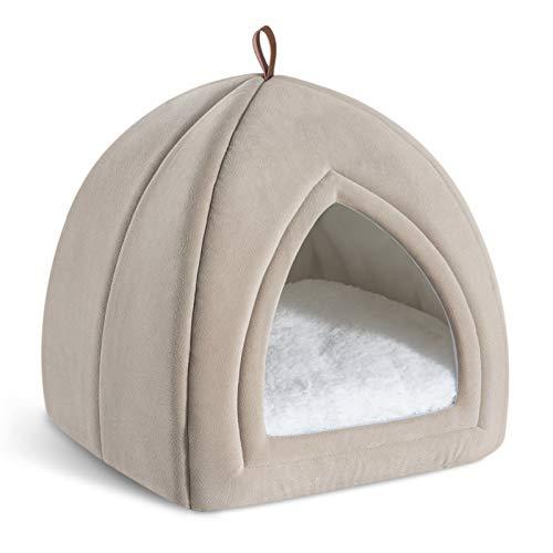 Bedsure Cama Gato Cueva Suave
