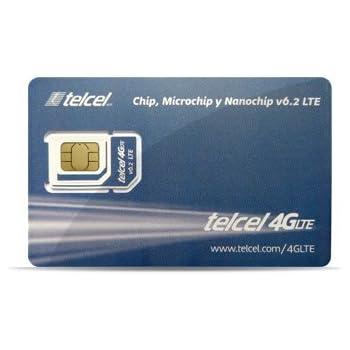 Amazon.com: Telcel Mexico Prepaid SIM Card with 12GB Data ...