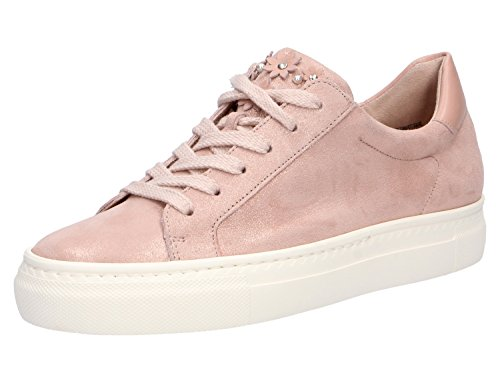 Paul Green Damen SZ Met/Diamond Calf Rose/Blush Sneaker Rosa/Pink