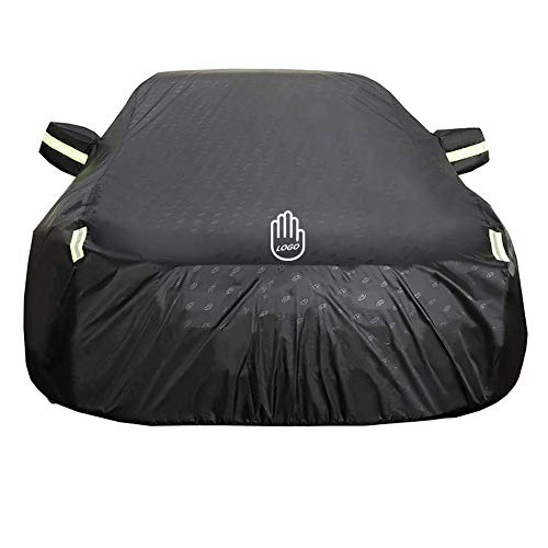 CAR COVER Outdoor,Suitable for Dodge RAM Trucks (Color : Enhanced Version Black)