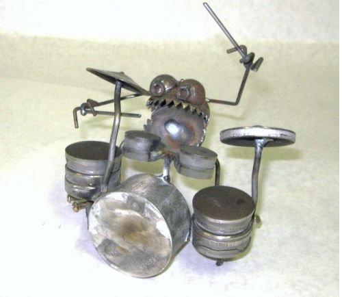 Gnome Be Gone Mini Drummer