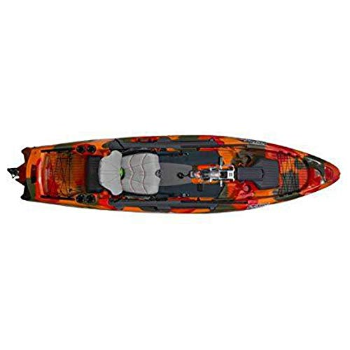 Feel Free Dorado 125 Kayak with Overdrive - Fire Camo
