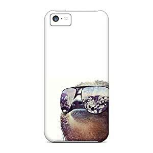 Bumper Hard Phone Cases For Apple Iphone 5c With Allow Personal Design Attractive Cool Money Sloth Skin IanJoeyPatricia