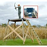 Amazon Com Guide Gear 10 Elevated Hunting Platform