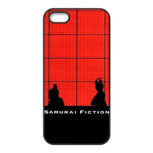 C1X78 Samurai Fiction Haute Résolution Affiche M1M0TP coque iPhone 5 5s cellule de cas de téléphone couvercle coque noire DK4VZU4JB