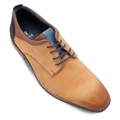 Zerimar Scarpe in Pelle da Uomo Sneaker Style Sneaker Uomo Colore Camel Taglia 43 Hiper Línea U96ZAqF7E