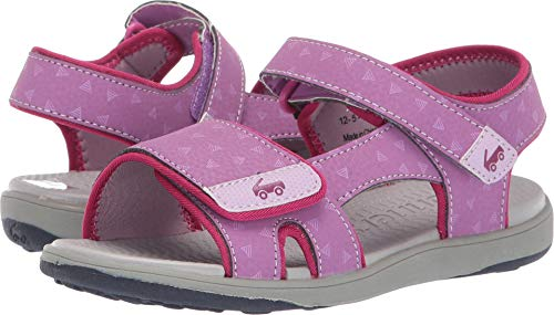 See Kai Run Girls' Jetty III Sport Sandal, Purple, 1Y M US Little Kid (Sport Sandals Iii)
