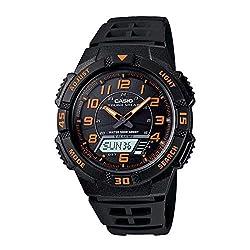 Casio Men's AQS800W-1B2VCF Slim Solar Multi-Function Ana-Digi Sport Watch