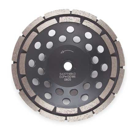Segment Cup Wheel, Diamond, Dbl, 4x5/8-11