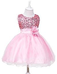 ce1a34ba8d2 Baby Girls Wedding Pageant Dress Princess Tutu Dress