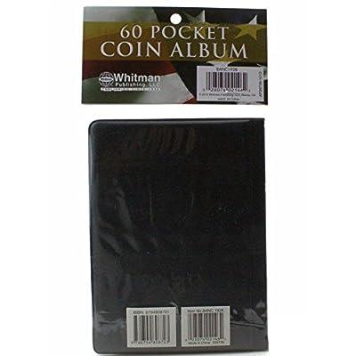 60 Pocket - HE Harris Coin Album, Hold Mylar or Flips: Toys & Games
