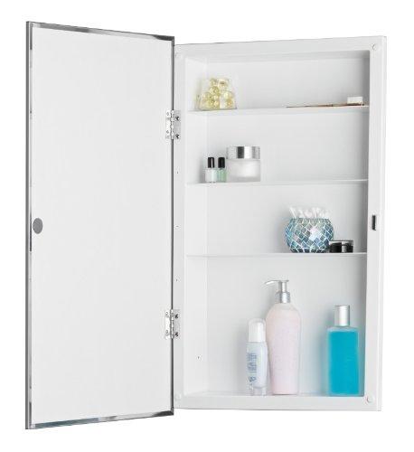 Jensen 781045 Builder Series Framed Medicine Cabinet, 16-Inch by 26-Inch by 3-3/4-Inch