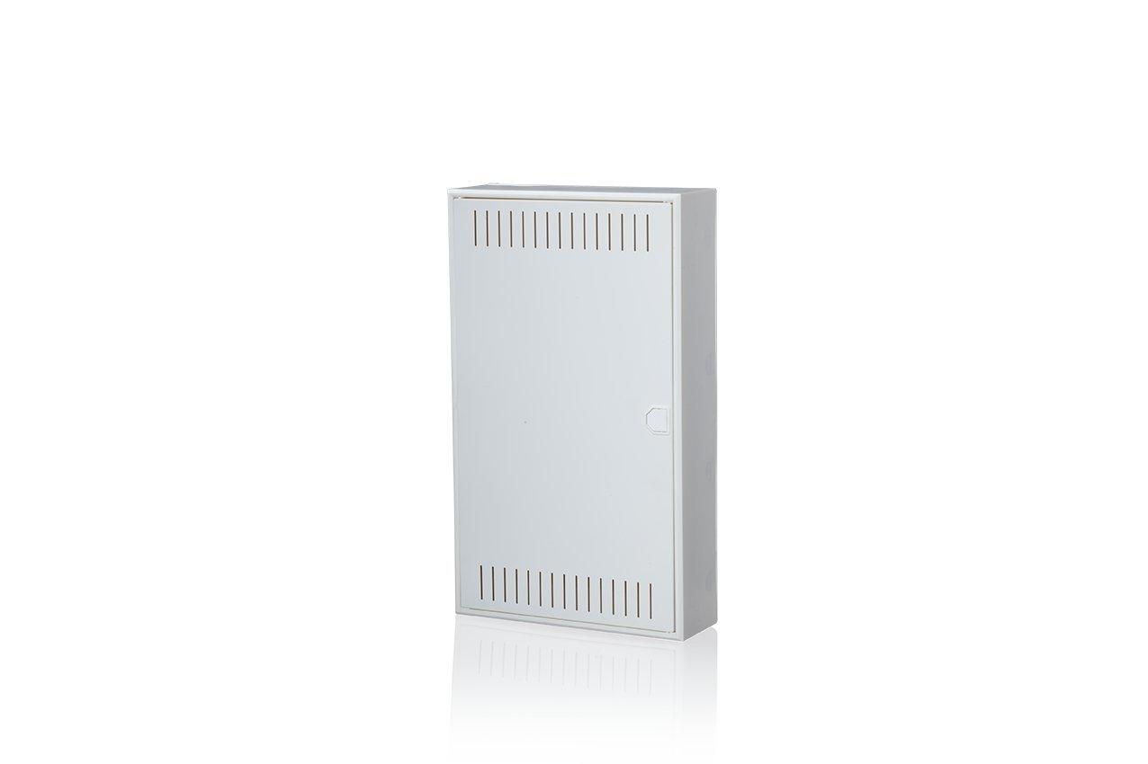 3/rang/ées Surface Plaque de Montage Blanc F-Tronic Communication Verteiler Vision K Apv36/K