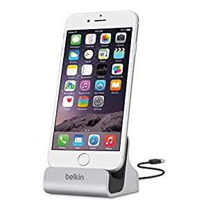 Belkin Apple Certified MIXIT Charge and Sync Dock with 4-Foot Lightning to USB Cable (Silver)