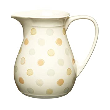 Kitchen Craft Classic Collection Keramik-Krug 1 l, groß: Amazon.de ...