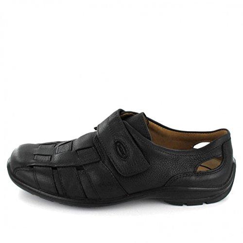 Jomos 310203-37-000 - Mocasines de Piel para hombre negro
