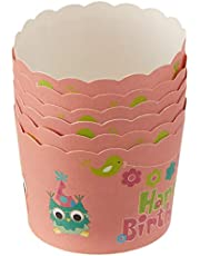 RedMan Muffin Baking Case, Owl, 50mm x 45mm, Pack of 50, (65727)
