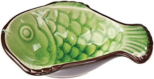 Luna Bazaar Green Ceramic Sauce