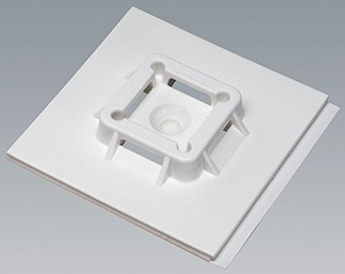 PANDUIT SGABM50-A-L SUPER GRIP TIE MOUNTS, NYLON 6.6, 2X2 IN